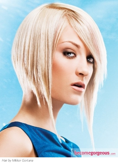 Medium Inverted Bob Hair Style