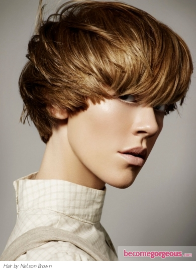 Pictures : Short Hairstyles - Bowl Cut Hair Style