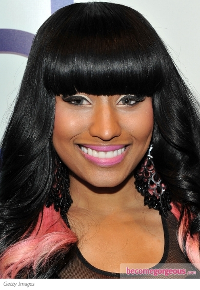 nicki minaj green eyes. Nicki