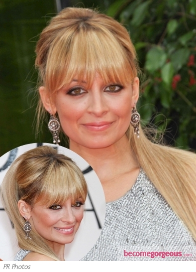Nicole Richie 2012 Golden Globes Ponytail