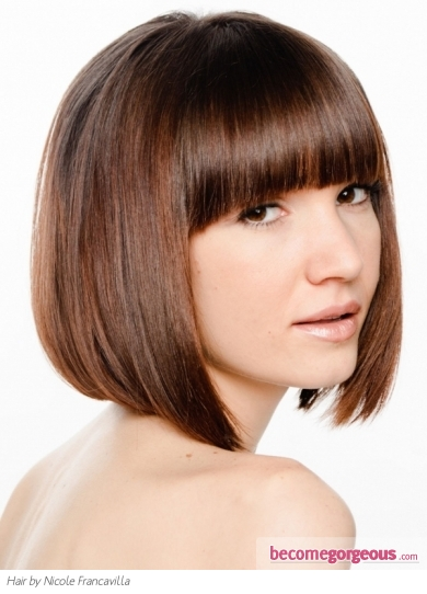 Super Sleek Bob Hair Style