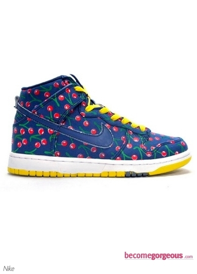 Nike Dunk Skinny Fabric Cherries Sneakers