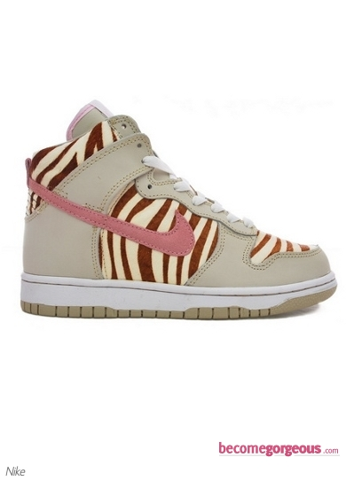 Nike Dunk High Women Zebra Sneakers