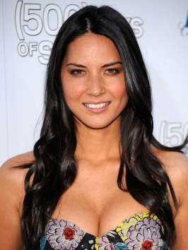 Olivia Munn Long Sleek Hairstyle