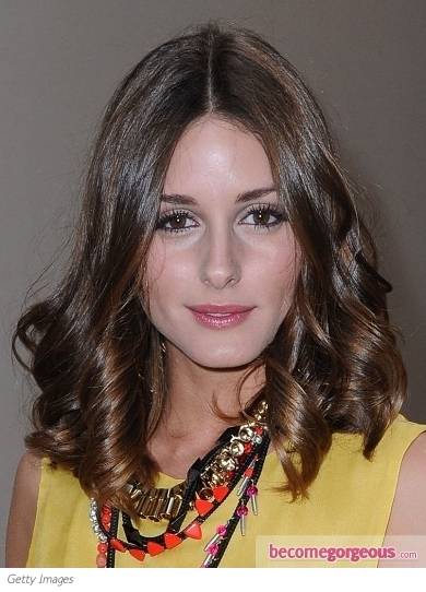 Olivia Palermo Shiny Bouncy Curls