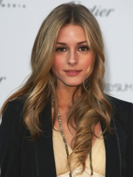 Olivia Palermo Loose Curly Hairstyle