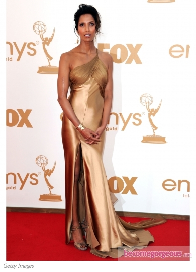 Padma Lakshmi in Armani Prive