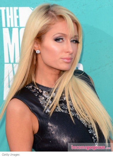 Paris Hilton's Long Smooth Hairstyle