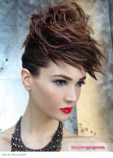 Party Messy Updo Hair Style