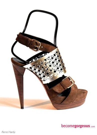 Pierre Hardy Brown High Heels