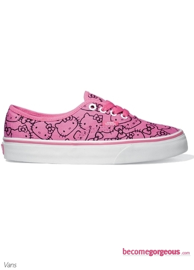 Pink Vans Hello Kitty Shoes