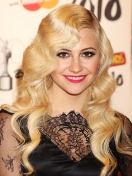 Pixie Lott's Hairstyle at the 2010 Brit Awards