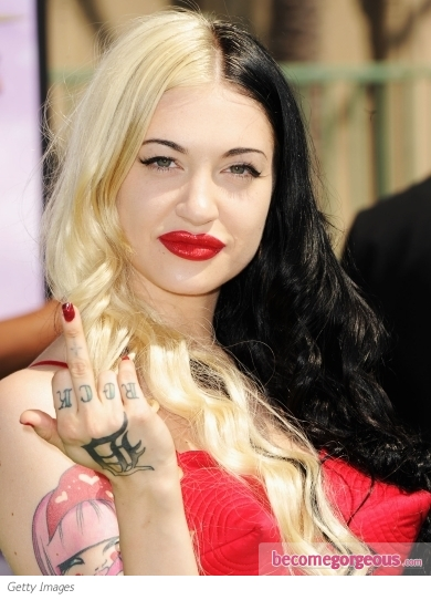 Porcelain Black Hairstyle 2011 BET Awards