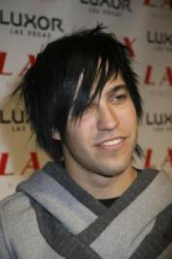 Pete Wentz Layered Emo Hairstyle