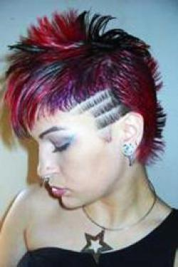 Incredible Girls Punk Hairstyles Eatavonteese Hairstyle Inspiration Daily Dogsangcom