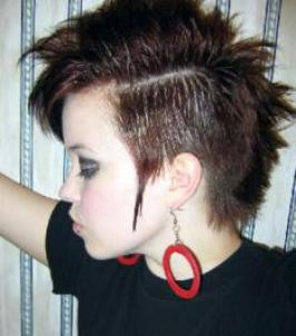 Girls Punk Hairstyles