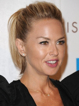 Rachel Zoe Puffy Pony Hairstyle