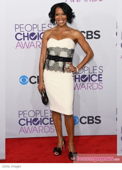 Regina King's Dress at 2013 People's Choice Awards