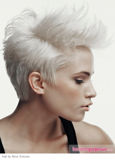 Collections of Short Platinum Blonde Hairstyles  Short - Curly Hairstyles Black Hair