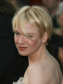 Renee Zellweger Short Layered Haircut
