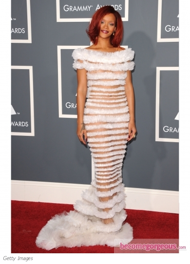 Rihanna in Jean Paul Gaultier Couture