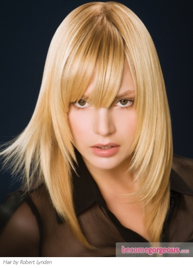 Shoulder-Length Layered Hairstyle