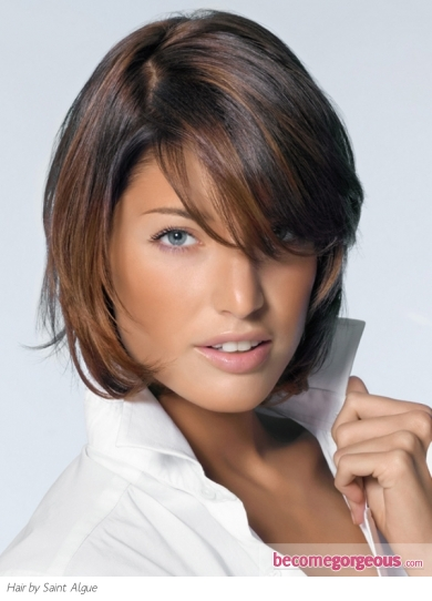 Medium Soft Layered Haircut