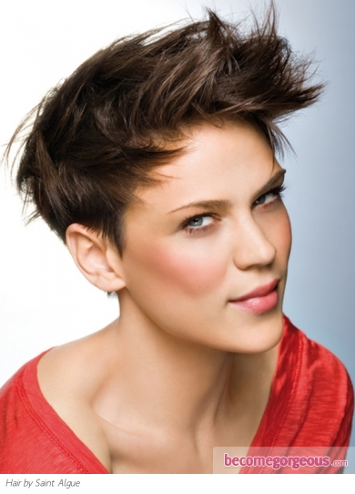 Modern Short Layered Haircut