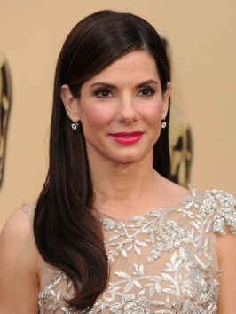 Sandra Bullock Hairstyle at the 2010 Oscars