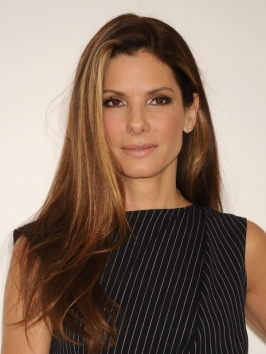 Sandra Bullock Long Layered Hairstyle