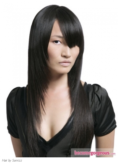 Long Asian Hair Style