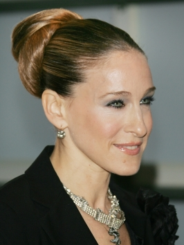 Sarah Jessica Parker with Sculpted Updo