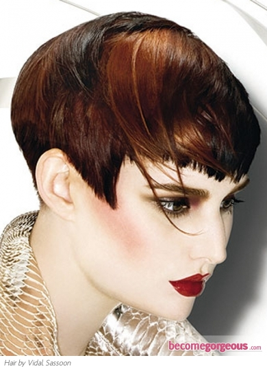 Short Two Tone Hair Style