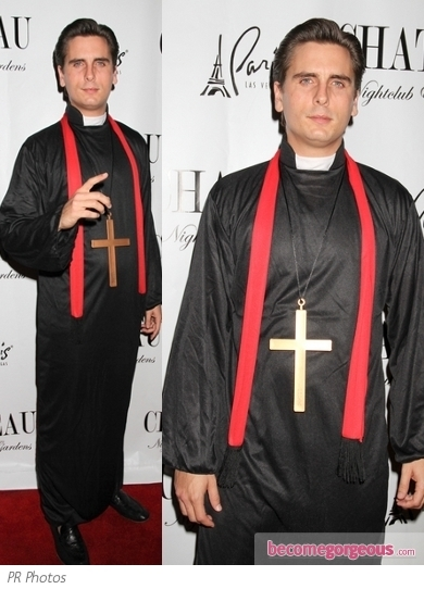 Scott Disick Priest Halloween Costume