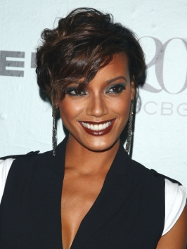 Selita Ebanks Short Curly Hairstyle