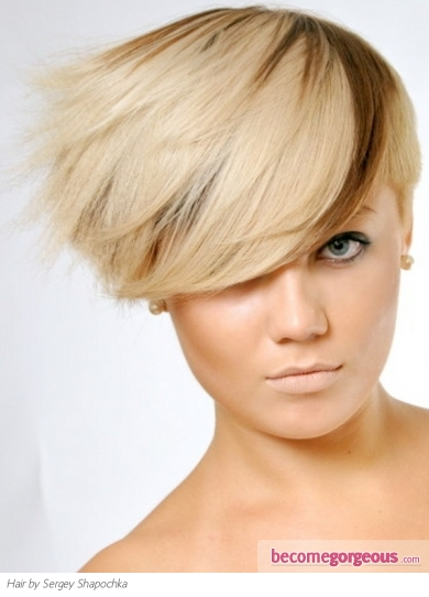 Fabulous Two Tone Pixie Haircut