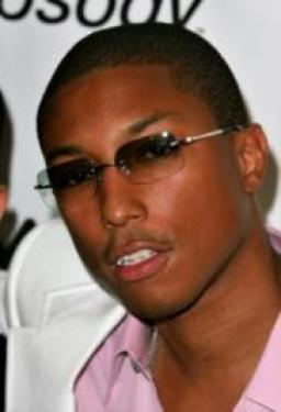 Pharrell Williams' Short Fade Haircut
