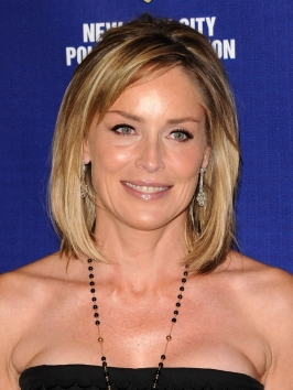 Sharon Stone Bob Hairstyle