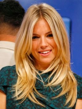 Sienna Miller Long Layered Hairstyle
