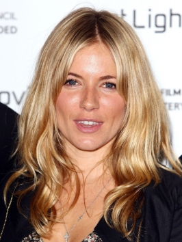 Sienna Miller's Long Wavy Hairstyle
