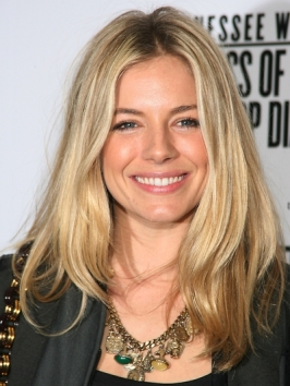 Sienna Miller Casual Hairstyle