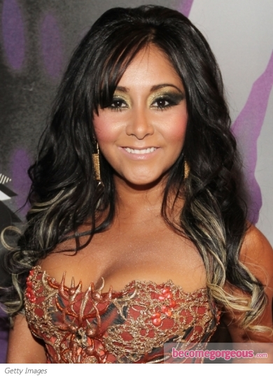 Snooki's Hairstyle at the 2011 MTV VMAs