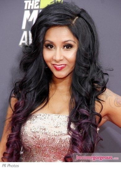 Remarkable Pictures 2013 Mtv Movie Awards Hairstyles Snooki Big Curly Short Hairstyles Gunalazisus