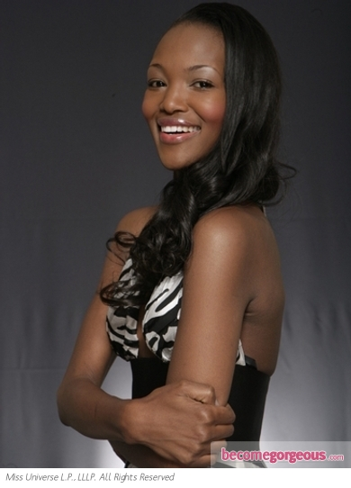 Miss South Africa Bokang Montjane