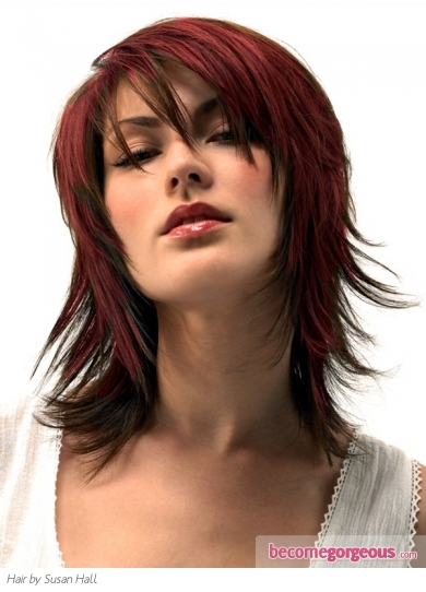 Gorgeous Medium Layered Haircut