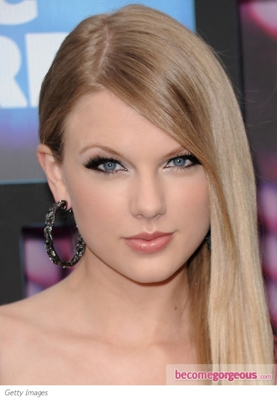 Taylor Swift Smokey Eye Makeup