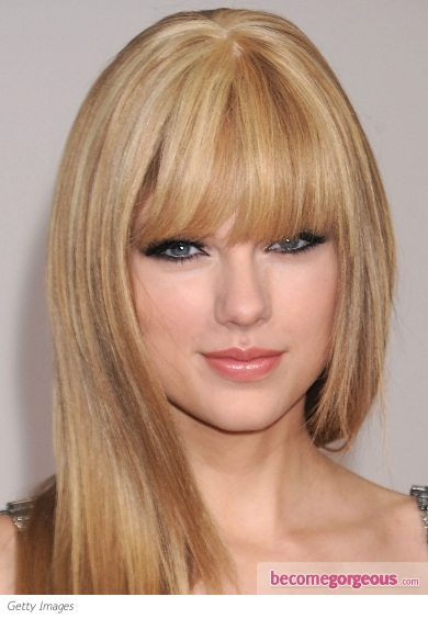 Taylor Swift Black Eyeliner Makeup