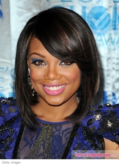 angled bob hairstyle photos. Tiffany Hines#39; angled bob