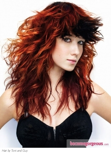 black hair and red highlights pictures.jpg Black Hair and Red Highlights