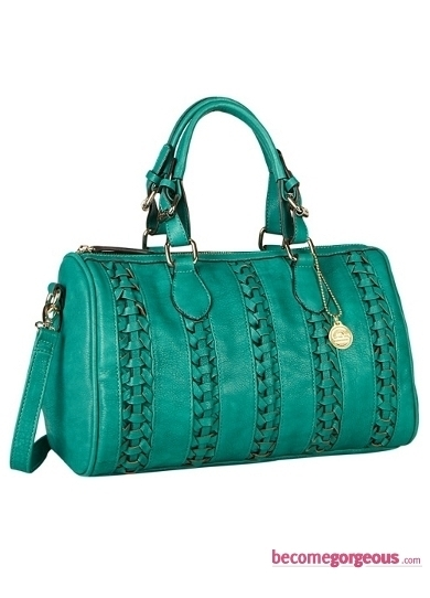 Turquoise Satchel Bag from Big Buddha